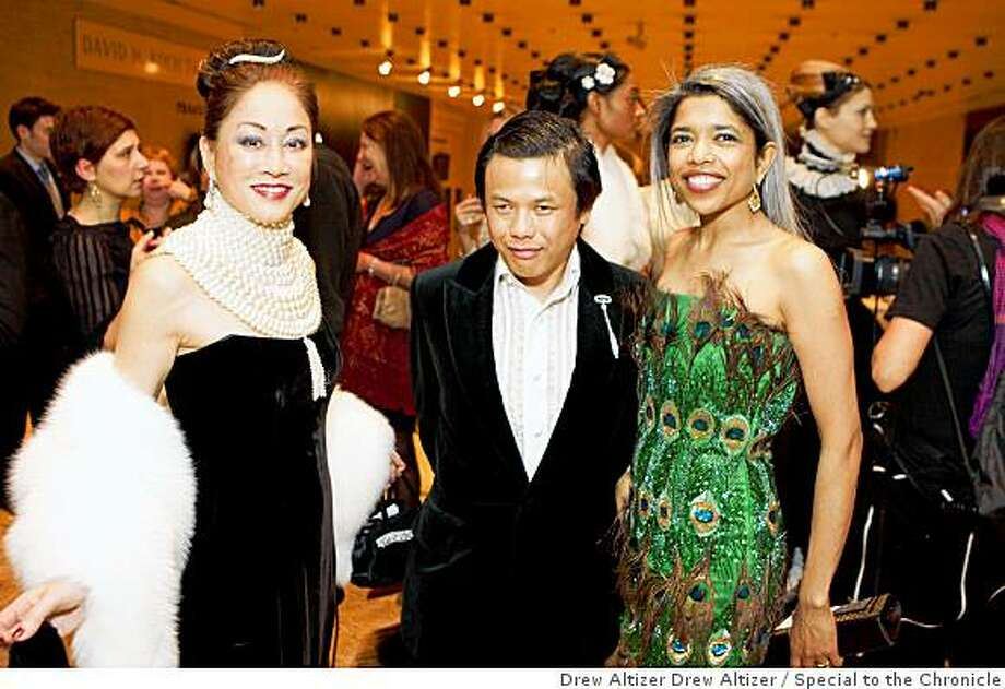 The Winter Ball, the School of American Ballet's annual Benefit, was held at Lincoln Center in New York City.Lucia Hwong Gordon, Zang Toi, Deepa Pakianathan Photo: Drew Altizer Drew Altizer, Special To The Chronicle