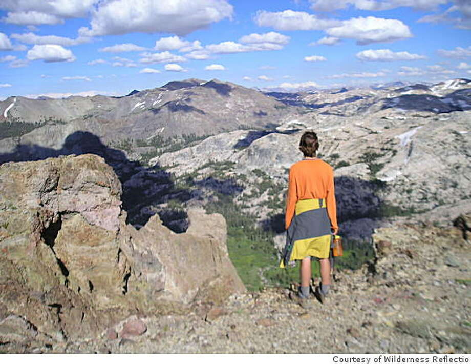 Quester reverie in the Sierra high country Photo: Courtesy Of Wilderness Reflectio