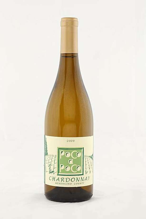 2009 Poco a Poco Mendocino County Chardonnay as seen in San Francisco, California, on November 17, 2010. Photo: Craig Lee, Special To The Chronicle