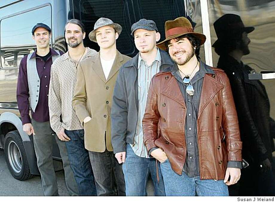 Local jam band New Monsoon will perform on Saturday April 11 at the Independent in San Francisco. Photo: Susan J Weiand