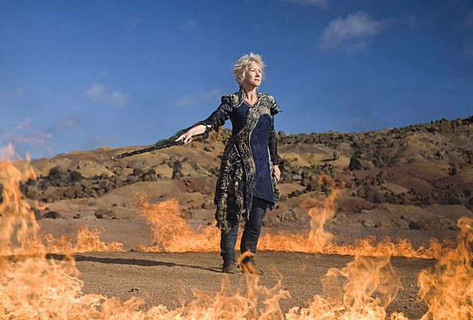 "In this publicity image released by Disney, Helen Mirren is shown in a scene from ""The Tempest."" Photo: Disney, Associated Press"