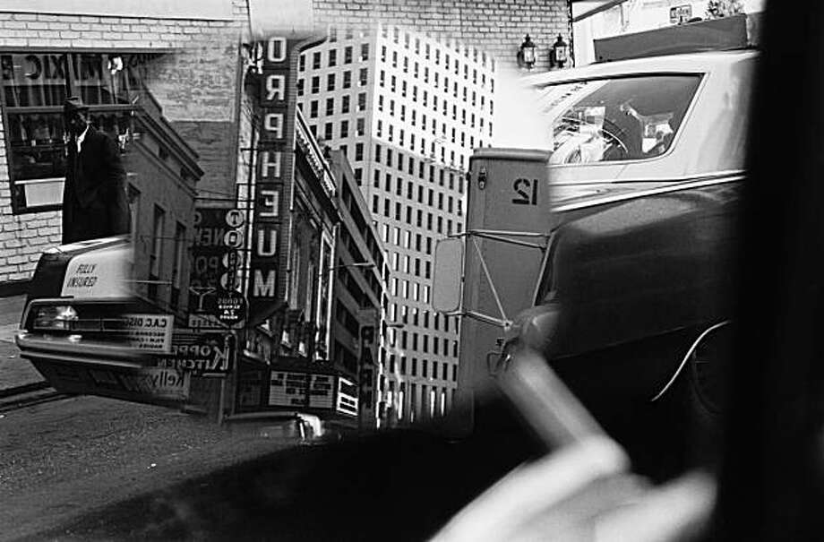 """New Orleans"" (1969) (printed later) gelatin silver print by Lee Friedlander Photo: Lee Friedlander, Fraenkel Gallery, S.f."