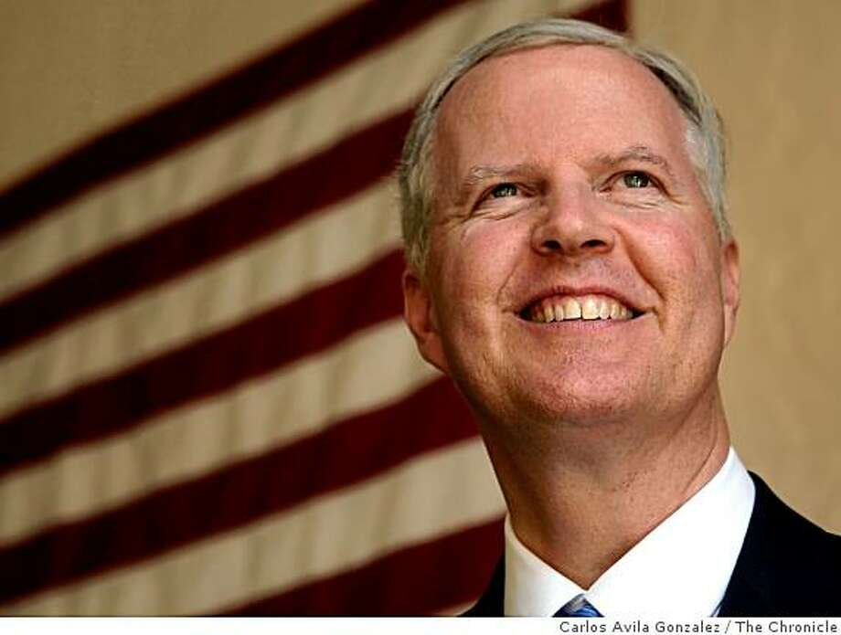 Tom Campbell, a GOP candidate for Governor, spoke with the San Francisco Chronicle about his run for the state's highest office on Wednesday, March 25, 2009, in San Francisco, Calif. Photo: Carlos Avila Gonzalez, The Chronicle