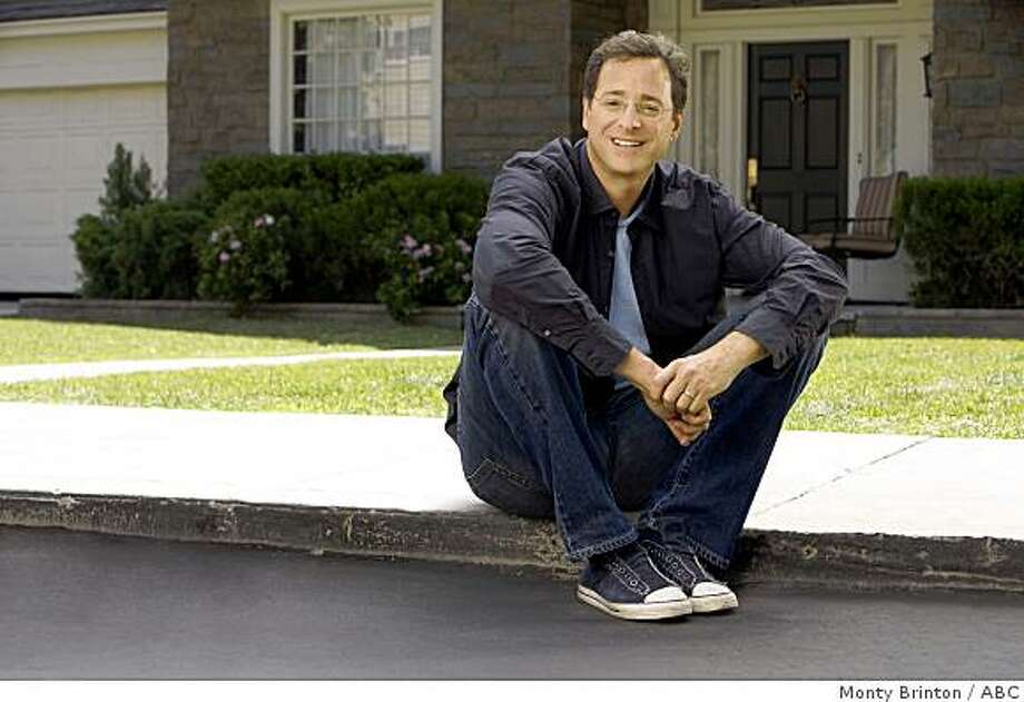 "SURVIVING SUBURBIA - ABC announces the premiere of new half-hour comedy series, ""Surviving Suburbia,"" starring Bob Saget (pictured) and Cynthia Stevenson, on MONDAY, APRIL 6 (9:30-10:00 p.m., ET), following ""Dancing with the Stars."" ""Surviving Suburbia"" takes a contemporary look at family life and the reasons one might have to question the system -- How does exchanging keys with a neighbor for emergencies result in house sitting? Why do kids' classroom projects inevitably become the parents' responsibility? When did we start needing mediators to handle disagreements between adults? - all of which goes to prove that it's never just another sunny day in the suburbs. Photo: Monty Brinton, ABC"