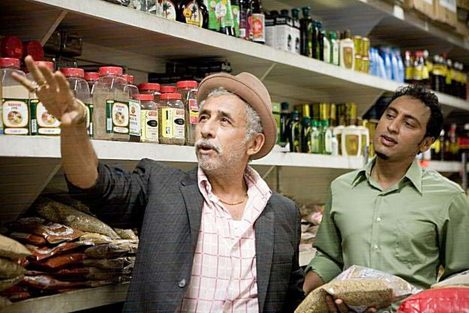 "Naseeruddin Shah, left, and Aasif Mandvi appear in a scene from, ""Today's Special."" Photo: Reliance Mediaworks"