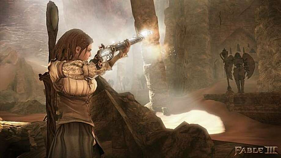 "In this video game image released by Microsoft, a scene is shown from ""Fable III."" Photo: Microsoft"