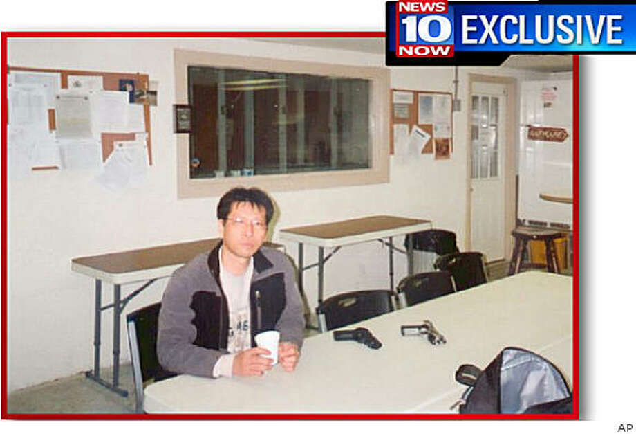 This image provided by News 10 Now in Syracuse, N.Y. on Monday April 6, 2009 shows an undated photo of gunman Jiverly Wong which the television station said it received in the mail from  Wong on Monday. A letter that included three photos, a gun permit and Wong's driver's license was  mailed to News 10 Now and postmarked Friday April 3, the day Wong killed 13 people before taking his own life in the American Civic Association community center in Binghamton, N.Y. (AP Photo/News 10 Now) ** NO SALES ** Photo: AP