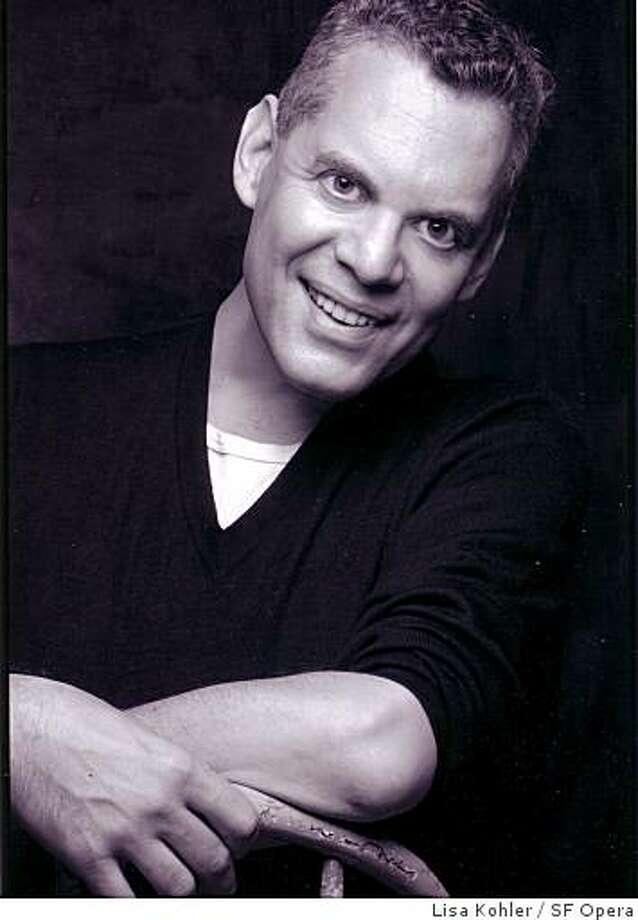 Pianist Steven Blier Photo: Lisa Kohler, SF Opera