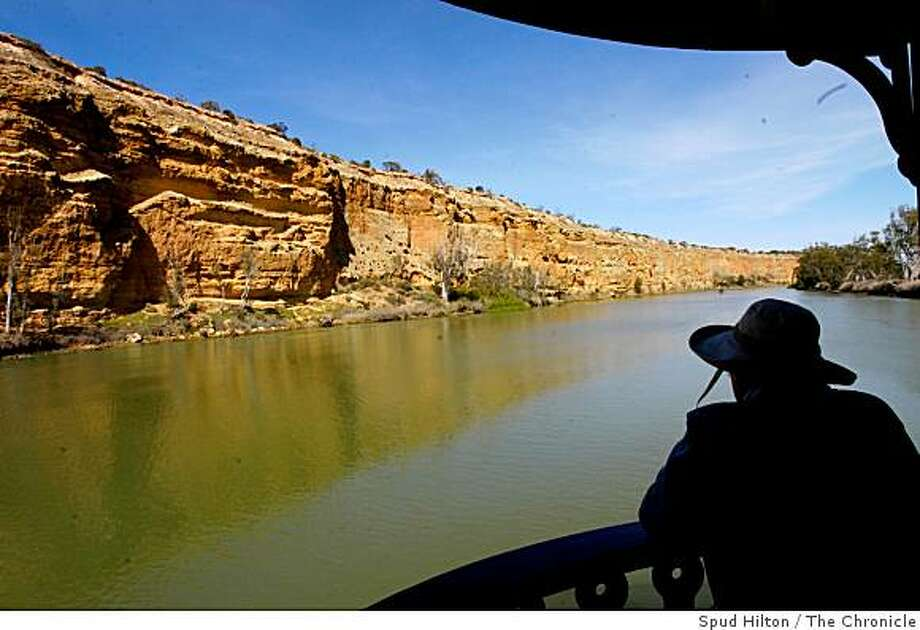 A cruise on the 120-passenger Murray Princess paddlewheel boat along Australia's River Murray. Photo: Spud Hilton, The Chronicle