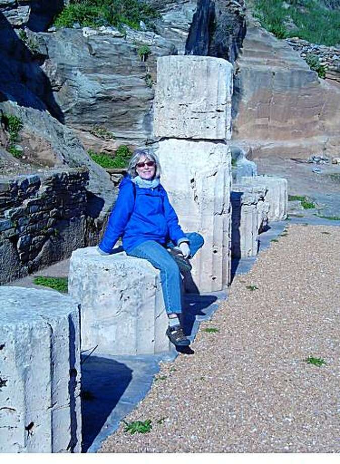 Lu Rehling & Ken Moffeit, StanfordEmail: LuRehling@gmail.comDaytime phone number: 650-208-8678Just back from: Kea, GreeceI went because: To enjoy a relaxing country vacation, in a country we'd always hoped to visit.Don't miss: The archeological site at Karthea. The ancient temple ruins overlook the beautiful beach at Poles.Don't bother: Setting aside much budget for expenses on the island. Kea is a place to stay simply. Taverna fare is traditional and, while good, not pricey.Coolest souvenir: Jams and condiments from eco-conscious Red Tractor Farm: Tasty reminders of the comfort and friendliness we enjoyed staying in the guesthouse there.Worth a splurge: Renting a car to get around the island, which is small, but hilly.I wish I'd packed: More books for enjoying by the fire after a long walk.Other comments: Kea is a hiker's paradise less than an hour by ferry from mainland Greece. Weather in the off-season resembles that in the Bay Area.Details of attached photo (if sent): Lu Rehling at the ruins of the Temple of Athena at the ancient city of Karthea.