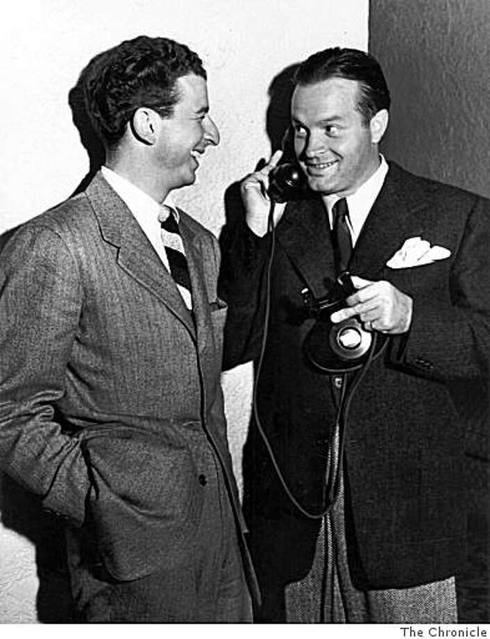 Herb Caen with Bob Hope. Photo: HANDOUT, The Chronicle