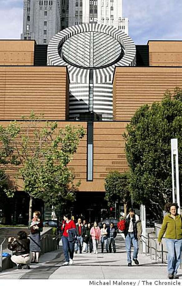 The San Francisco Museum of Modern Art Street on 3rd Street between Howard and Mission in San Francisco. Taken April 3, 2007 Photo: Michael Maloney, The Chronicle