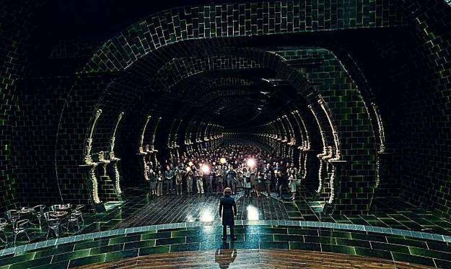 The Ministry of Magic in  Harry Potter and the Deathly Hallows Part 1. & Stuart Craig Harry Potteru0027s production designer - SFGate