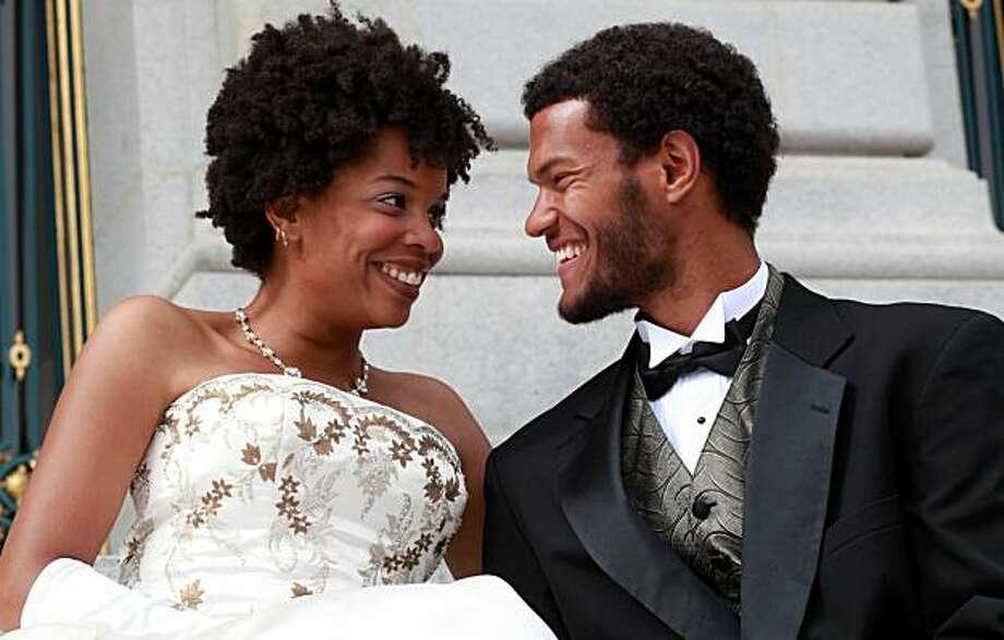 "Khamara Pettus and Matt Jones star in the African-American Shakespeare Company's holiday production of ""Cinderella."" Photo: African American Shakespeare Co"