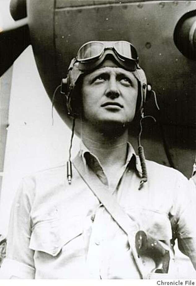 Ed Callan, WWII pilot Photo: Chronicle File