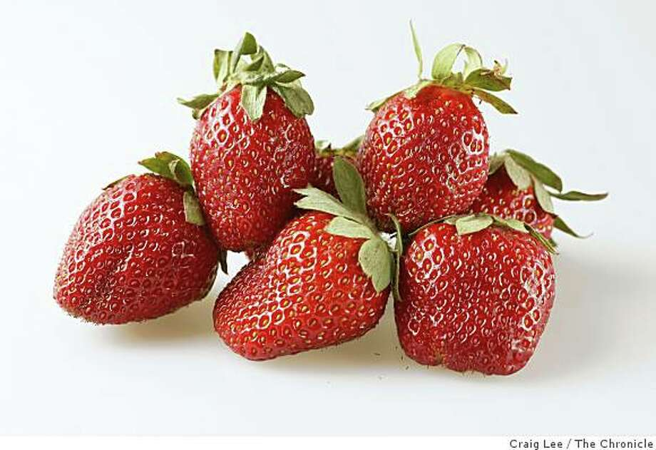Strawberries in San Francisco, Calif., on March 26, 2009. Photo: Craig Lee, The Chronicle