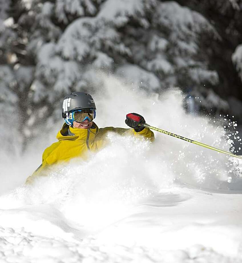 Skiing in Vail, Colorado. Photo: Jack Affleck