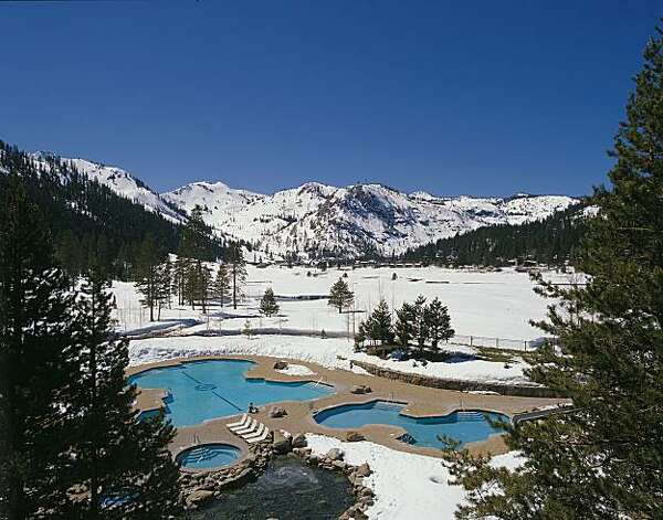The pools at The Resort at Squaw Creek. Photo: Resort At Squaw Creek