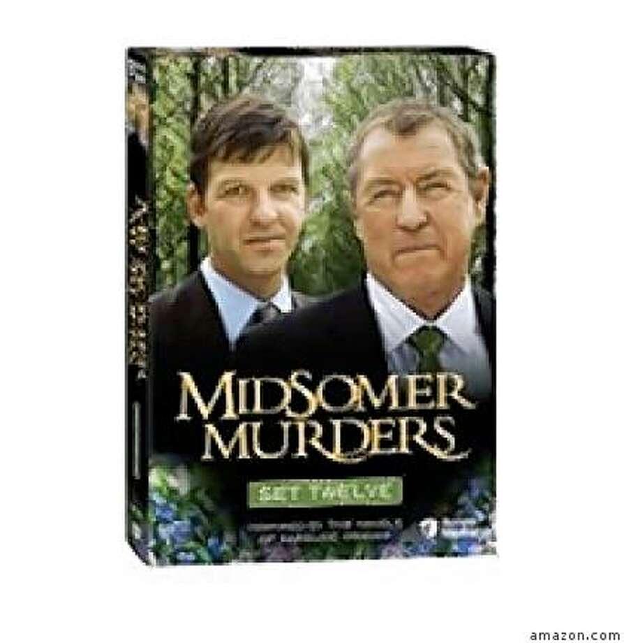 dvd cover: MIDSOMER MURDERS, SET 12 Photo: Amazon.com