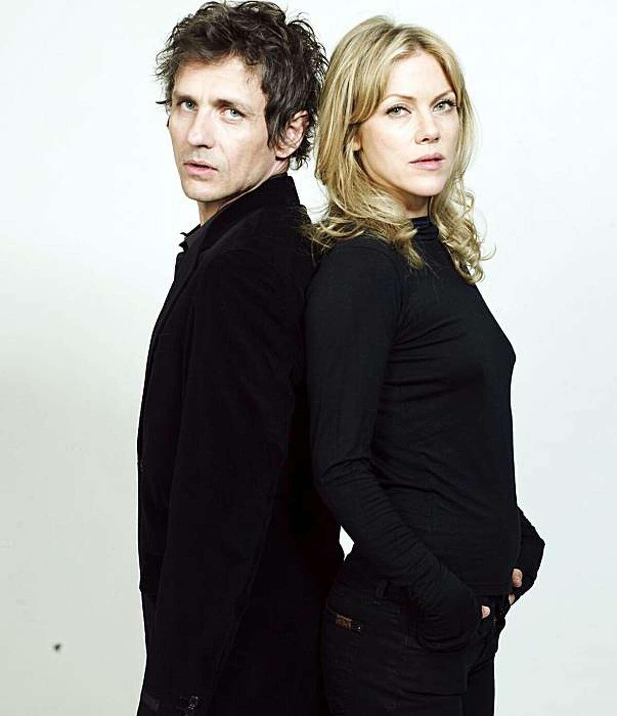 Dean Wareham and his wife Britta