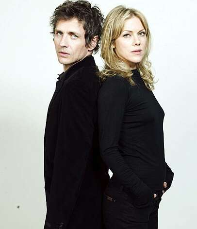 Dean Wareham and his wife Britta Photo: Www.alr-music.com