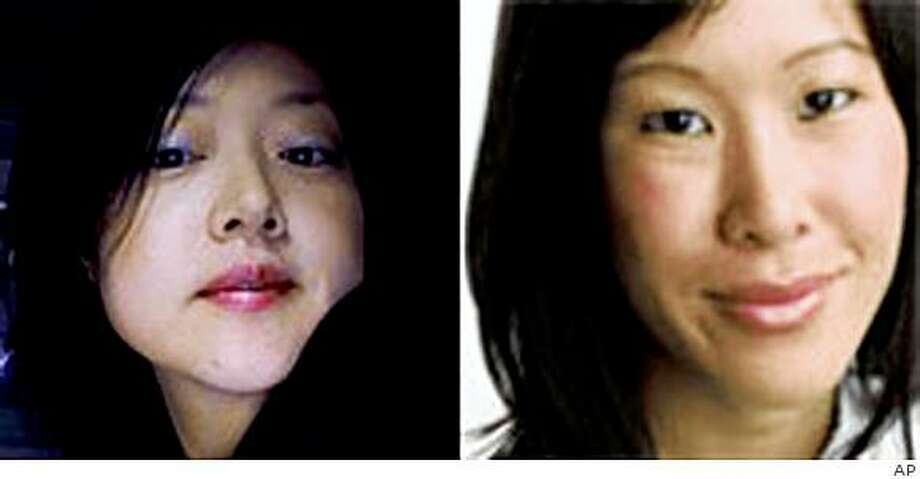 These undated photos show American journalists Laura Ling, right, and Euna Lee. North Korea's state-run news agency says the two reporters detained in March 2009 will be tried for illegal entry and hostile acts. The Korean Central News Agency said in a report early Tuesday, March 31, 2009 that an initial investigation confirms the two entered the country illegally. (AP Photo/Yonhap) ** KOREA OUT ** Photo: AP