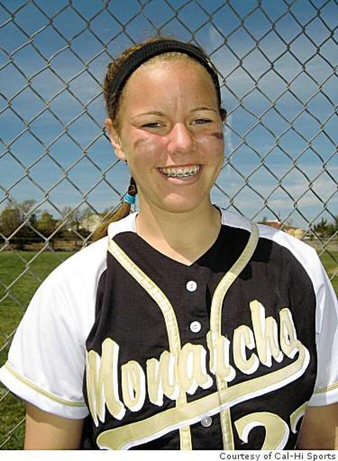 Mitty pitcher/first baseman Keilani Ricketts, a junior, is the Chronicle's 2008 Metro Area softball player of the year. Photo: Cal-Hi Sports, Courtesy Of Cal-Hi Sports