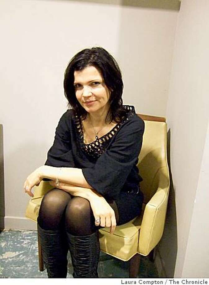 Ali Hewson, founder of EDUN clothing and NUDE skincare, was at Clary Sage in San Francisco March 26, 2009, to help launch a pop-up store. Photo: Laura Compton, The Chronicle