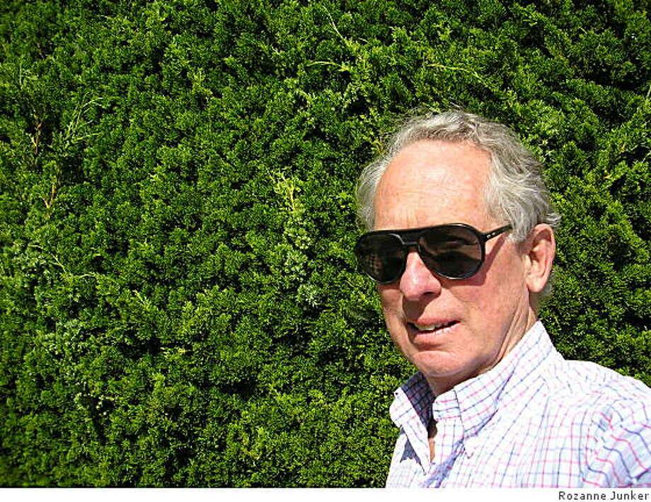 Howard JunkerEditor, ZYZZYVA Photo: Rozanne Junker