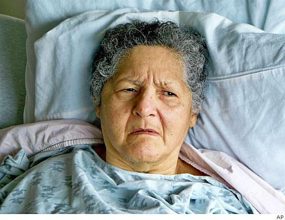An undated handout photo released Monday, March 23, 2009 by the State of New Jersey Dept. of Human Services shows Elba Leonor Diaz Soccares, 76, at Hagedorn Psychiatric Hospital. Soccares  who has been an unidentified patient in state psychiatric hospitals since she was found wandering in the Woodbridge Mall 14 years ago, was recently identified by Human Services Police Department Lt. Eduardo Ojeda. (AP Photo/via  State of New Jersey Dept. of Human Services) Photo: AP