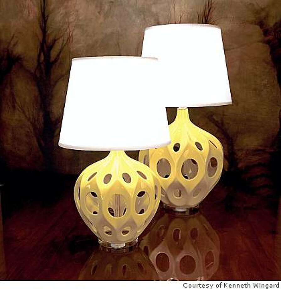 Wingard Fave Truffault lamp Photo: Courtesy Of Kenneth Wingard