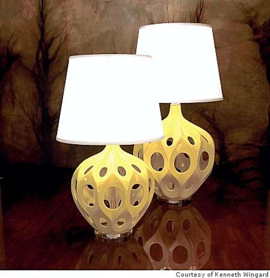 Wingard Fave Truffault lamp Photo: Courtesy Of Kenneth Wingard