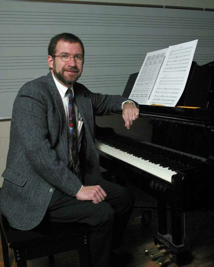 Brett Wery, professor of music at Schenectady County Community College. (Heather Meaney)