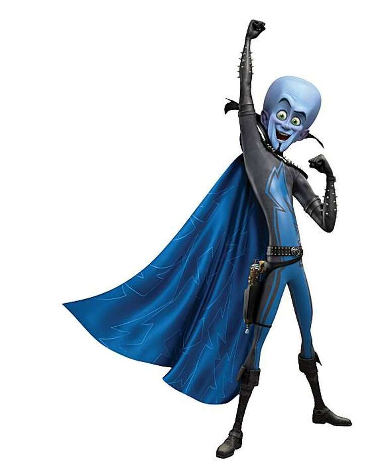 """Megamind is voiced by Will Farrell in , """"Megamind."""" Photo: Dreamworks"""