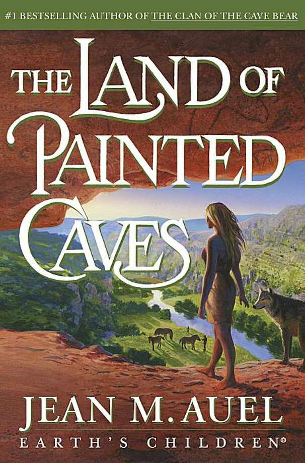 "In this book cover image released by Crown Publishing, ""The Land of Painted Caves,"" the sixth book in the ""Earth's Children"" series, is shown. Photo: Crown Publishing, AP"