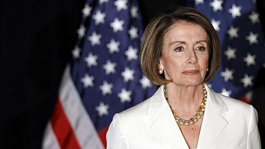 House Speaker Nancy Pelosi of Calif., waits to speak to supporters at an election night party in Washington, Tuesday, Nov. 2, 2010. Photo: Alex Brandon, AP