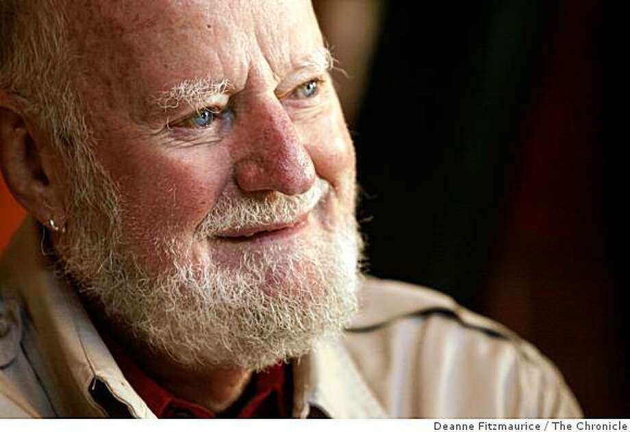 Poet and publisher Lawrence Ferlinghetti Photo: Deanne Fitzmaurice, The Chronicle