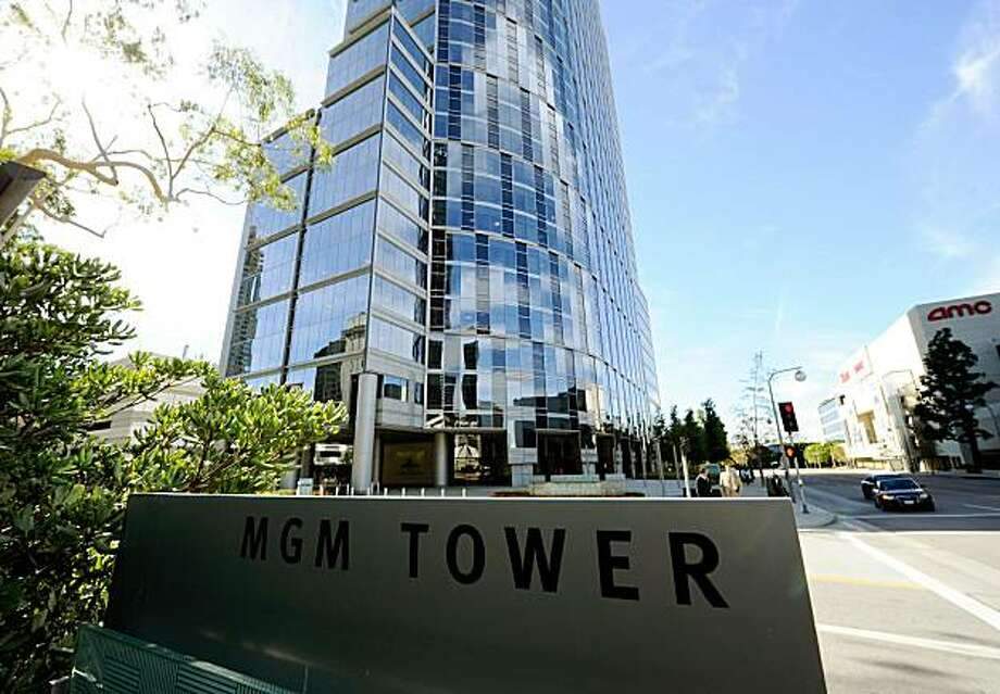 LOS ANGELES, CA - OCTOBER 28:  MGM Tower is seen on October 28, 2010 in the Century City section Los Angeles, California. According to reports Metro- Goldwyn-Mayer's creditors will vote on October 29, to send the studio into bankruptcy court. Photo: Kevork Djansezian, Getty Images