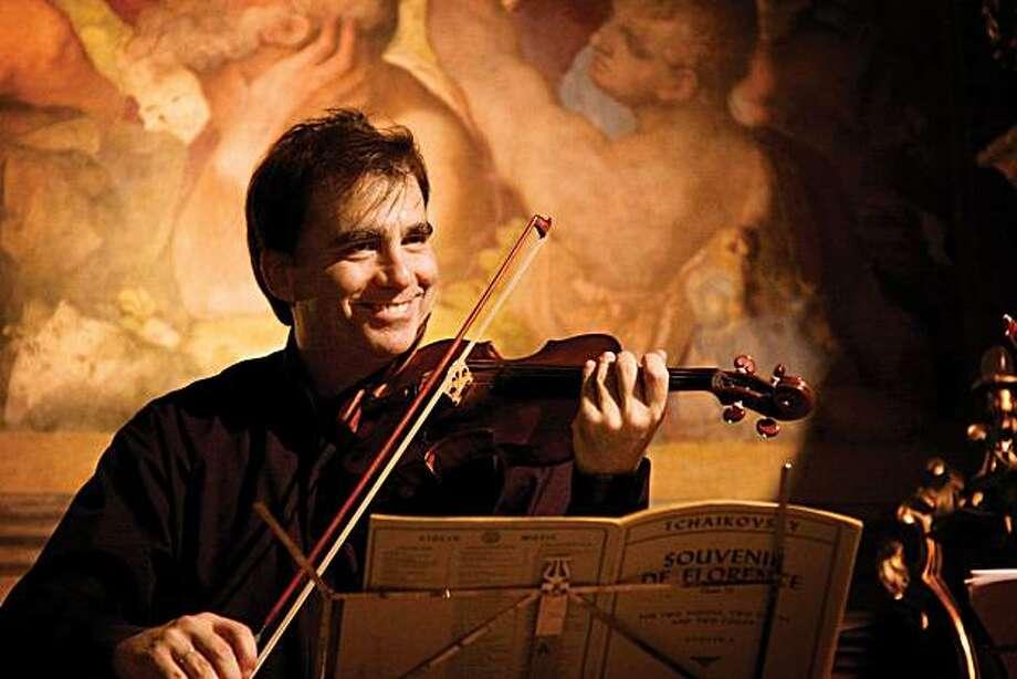 Violinist Robert McDuffie Photo: SF Performances