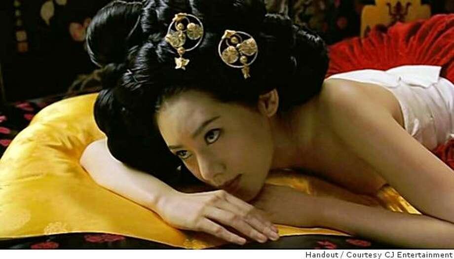 "Chu Ja-hyeon as Seol-hwa, a courtesan in Jeon Yun-su's ""Portrait of a Beauty,"" a 2008 South Korean film. Photo: Handout, Courtesy CJ Entertainment"