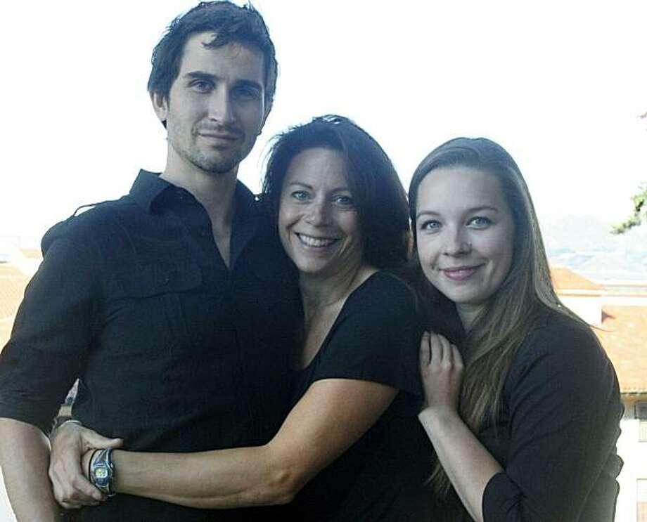 """Or,"" cast members Ben Huber (from left), Natasha Roi and Maggie Mason. Photo: Magic Theatre"