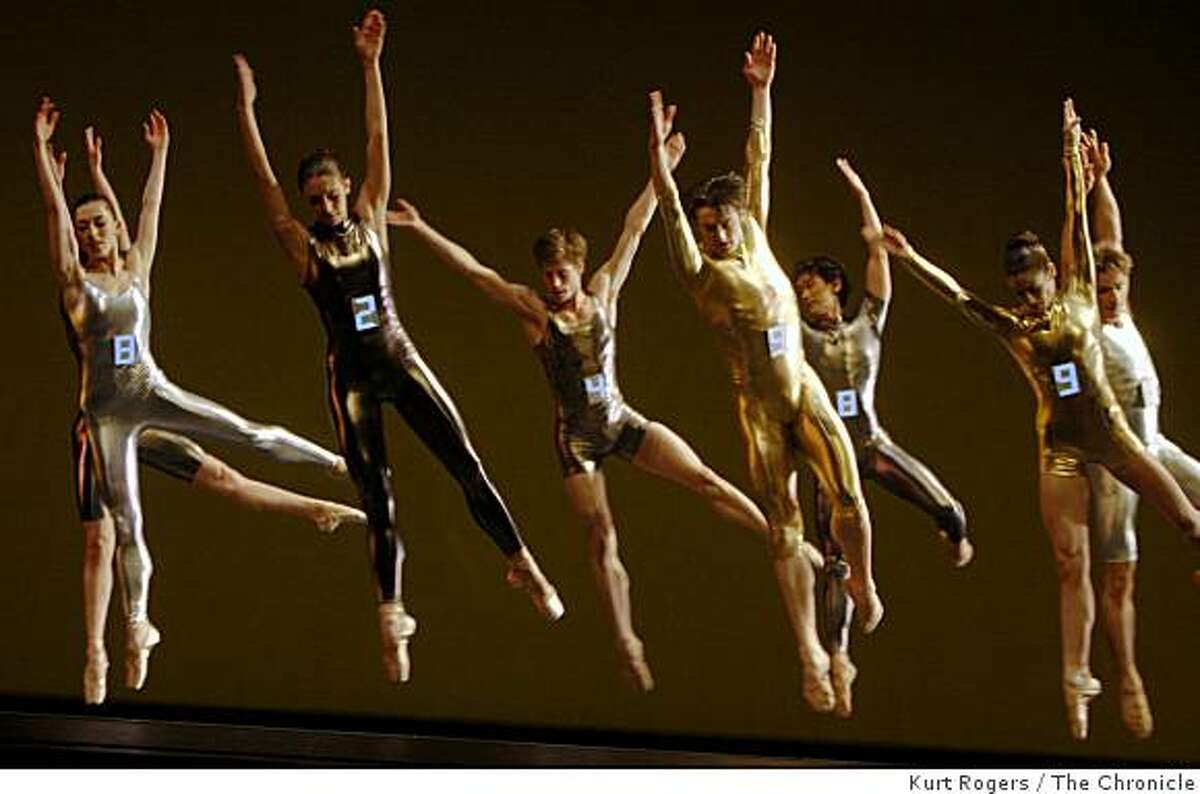 The San Francisco Ballet performs JOYRIDE from Program 5. on Friday Mar 13, 2009 in San Francisco , Calif