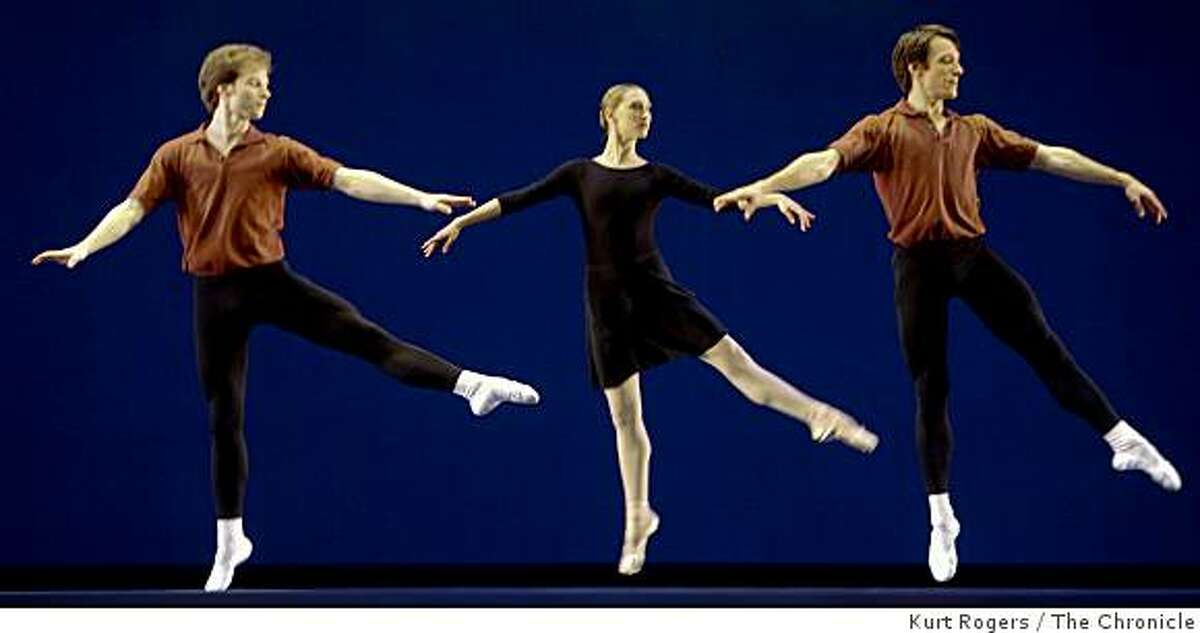 The San Francisco Ballet performs A GARDEN from Program 5 on Friday Mar 13, 2009 in San Francisco , Calif