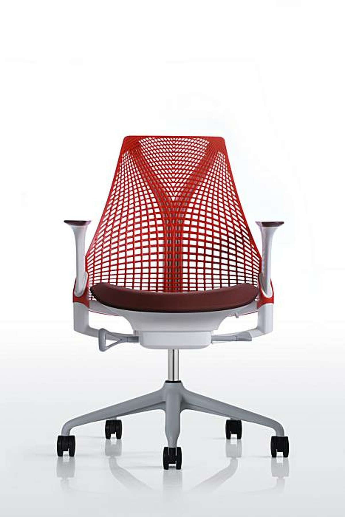 The new Sayl chair by San Francisco designer Yves Behar for Herman Miller costs under $400. Photo courtesy of Fuseproject.