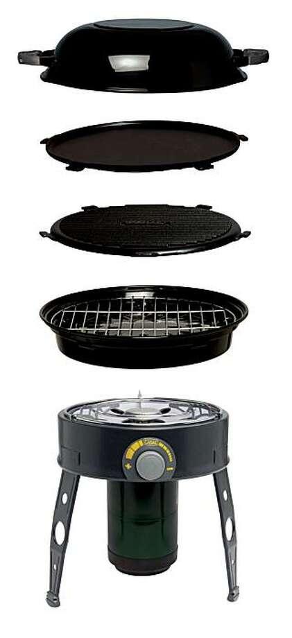 The Cadac Safari Chef 5-in-1 grill. Photo: Cadac