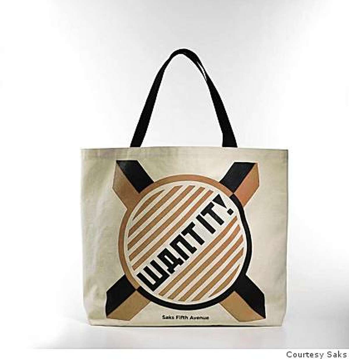 This Shepard Fairey designed tote bags will be sold for $20, $15 of which will go to HOPE, an energy-conscious non-profit focused on generating artist participation in campaigns, programs and events to promote education and peace around the world