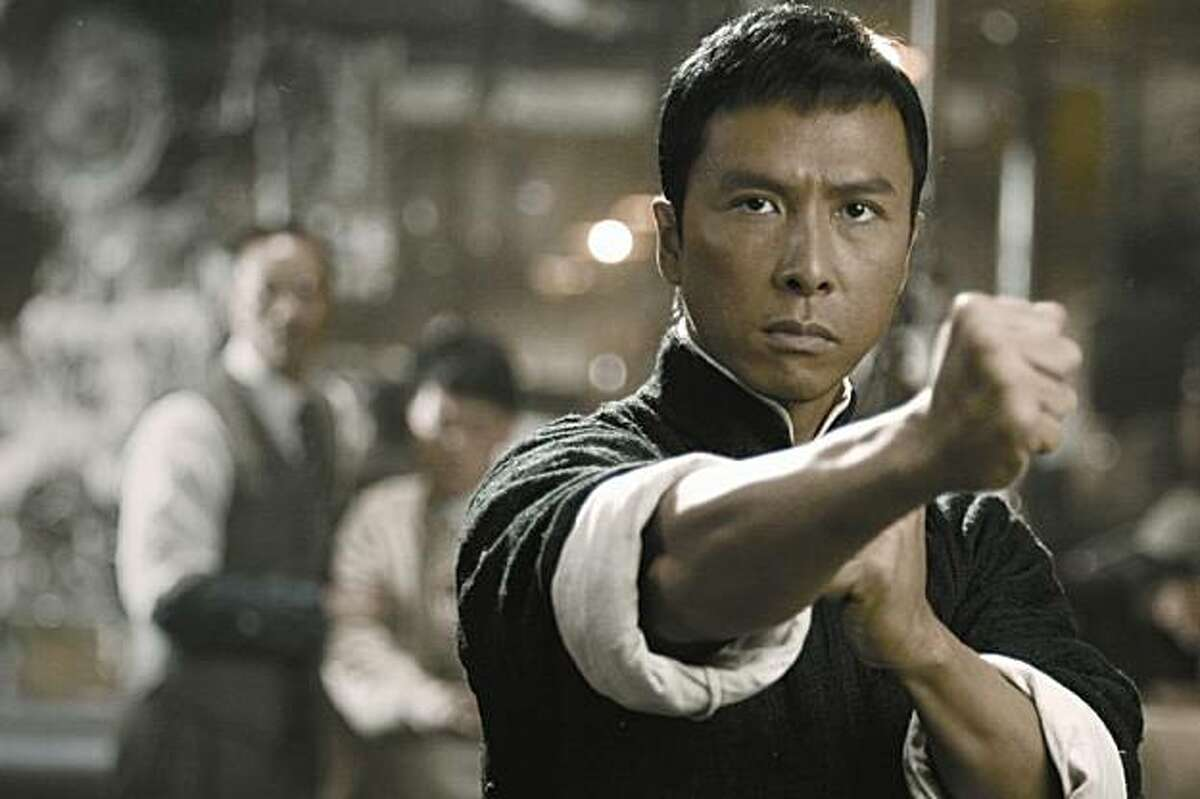 """Donnie Yen as the title character in """"Ip Man,"""" a 2008 Chinese martial arts film."""