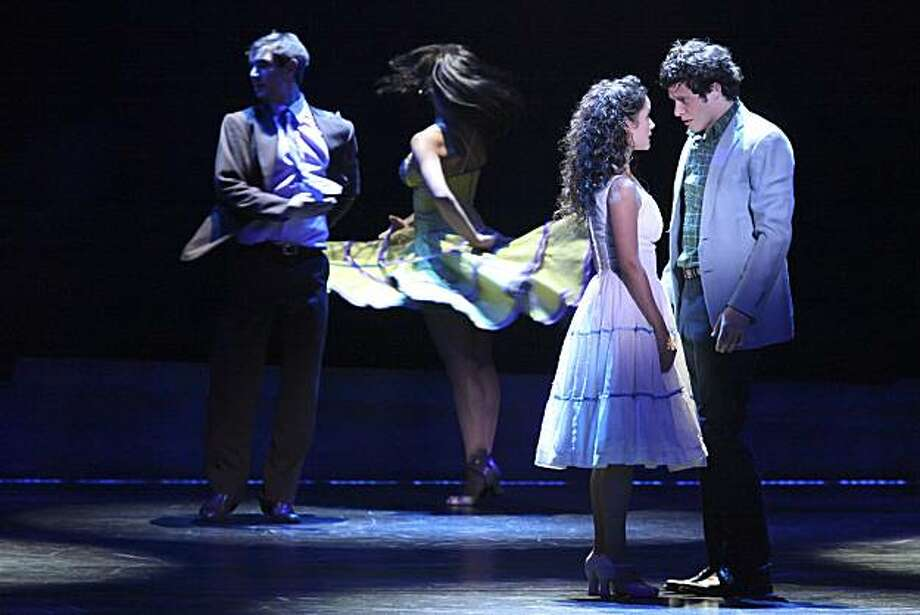 Tony, played by actor Kyle Harris, meets Maria, played by actor Ali Ewoldt, for the first time during scene 4 in West Side story on opening night at the Orpheum Theater on Wednesday, October 28, 2010 in San Francisco, Calif. Photo: John Sebastian Russo, The Chronicle