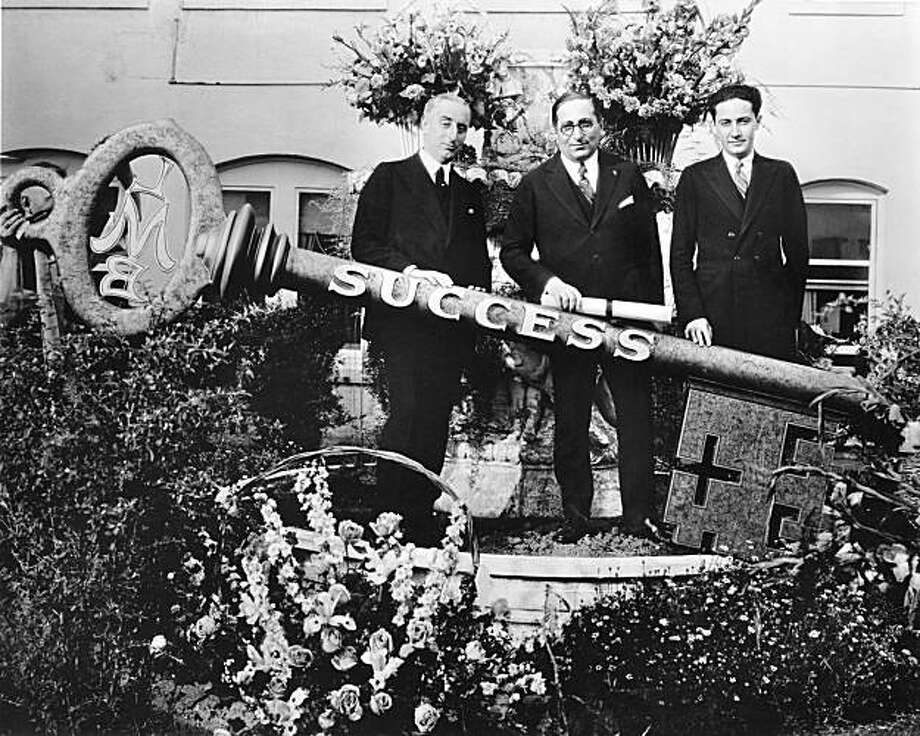 Harry Rapf, Louis B. Mayer and Irving Thalberg Photo: Courtesy Of Turner Classic Movie