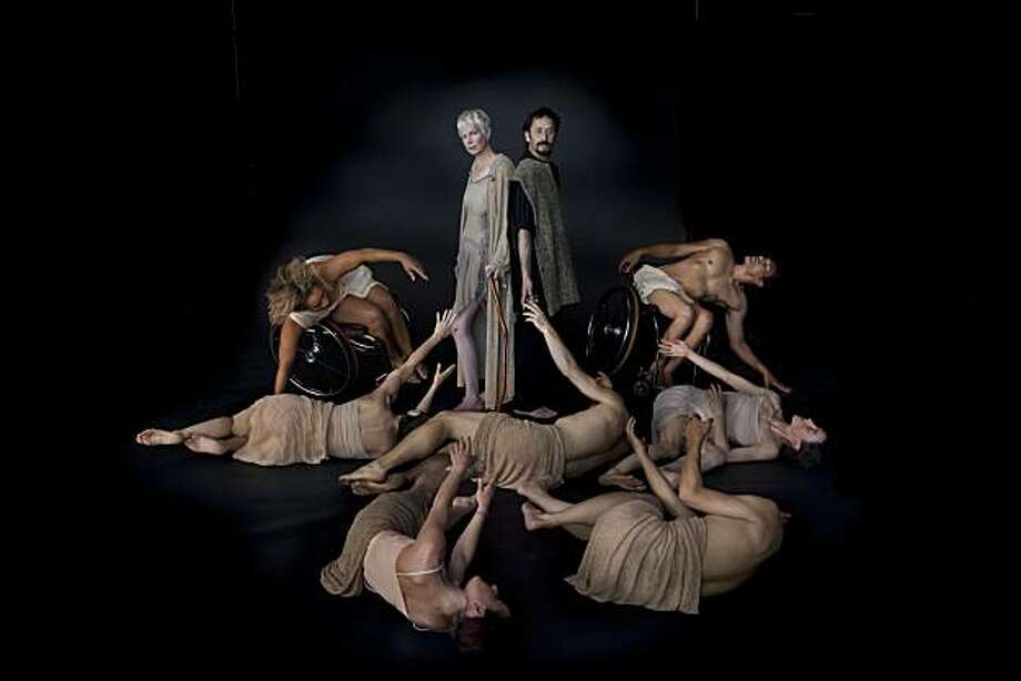 """ODC Theater presents the world premiere of inkBoat and AXIS Dance work, """"ODD"""" Photo: Michele Clement"""